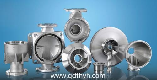 Precision Casting Stainless Steel Pump Parts
