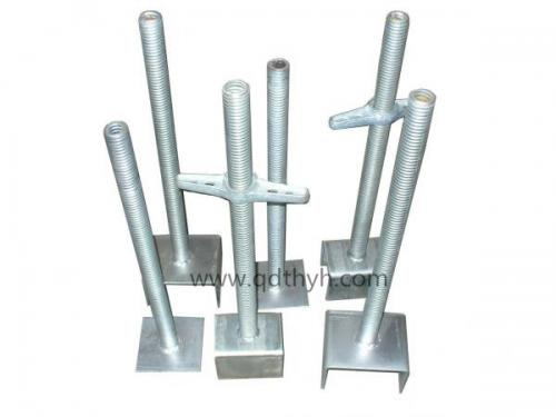 Galvanized Screw jack base, Scaffold jack base, U-head, Scaffolding parts
